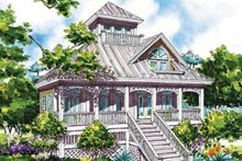 Dream House Plan - Country Exterior - Rear Elevation Plan #930-63