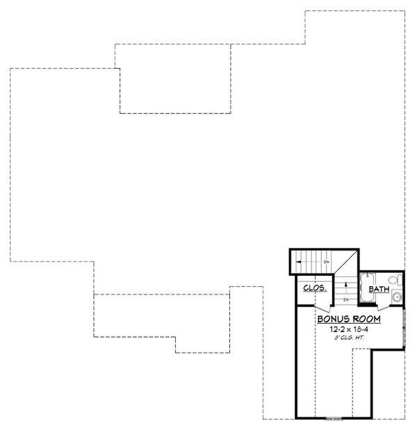 Craftsman Floor Plan - Other Floor Plan Plan #430-152