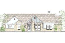 Home Plan - Traditional Exterior - Front Elevation Plan #80-166