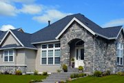 Craftsman Style House Plan - 2 Beds 2 Baths 1874 Sq/Ft Plan #48-279 Exterior - Other Elevation