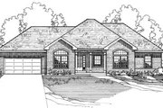 Traditional Style House Plan - 3 Beds 2 Baths 2203 Sq/Ft Plan #31-115 Exterior - Front Elevation