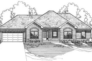 Traditional Exterior - Front Elevation Plan #31-115