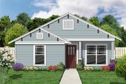 Cottage Style House Plan - 4 Beds 2 Baths 1398 Sq/Ft Plan #84-494