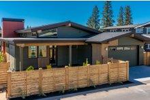 Architectural House Design - Modern Exterior - Rear Elevation Plan #895-84