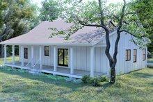 Home Plan - Cottage Exterior - Rear Elevation Plan #44-247