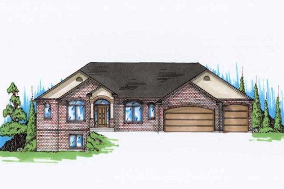 Traditional Exterior - Front Elevation Plan #5-268