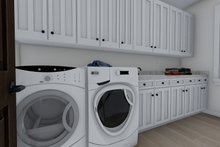 Traditional Interior - Laundry Plan #1060-61