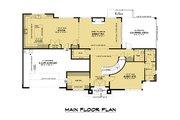 Contemporary Style House Plan - 5 Beds 4.5 Baths 3796 Sq/Ft Plan #1066-128 Floor Plan - Main Floor