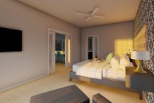 House Plan Design - Farmhouse Interior - Master Bedroom Plan #126-176