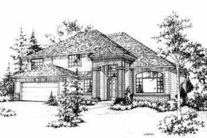 Traditional Exterior - Front Elevation Plan #78-116