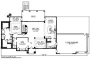 Ranch Style House Plan - 4 Beds 4 Baths 2609 Sq/Ft Plan #70-1501 Floor Plan - Main Floor