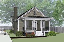 House Plan Design - Bungalow Exterior - Front Elevation Plan #79-174