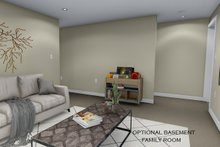 House Plan Design - Future Lower Level Family Room