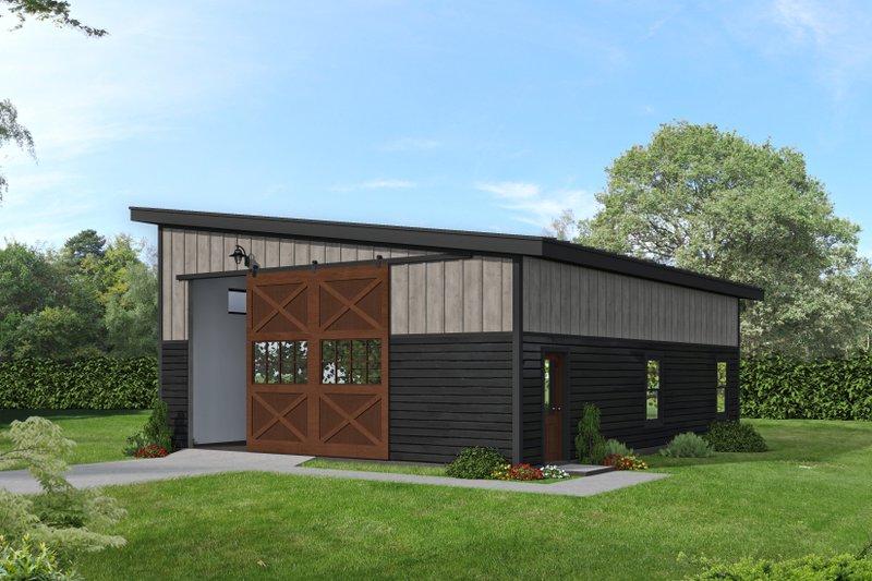 House Plan Design - Modern Exterior - Front Elevation Plan #932-416