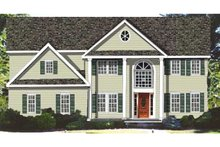 Classical Exterior - Front Elevation Plan #3-268