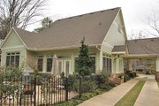 Craftsman Style House Plan - 3 Beds 2 Baths 1657 Sq/Ft Plan #120-160 Exterior - Rear Elevation