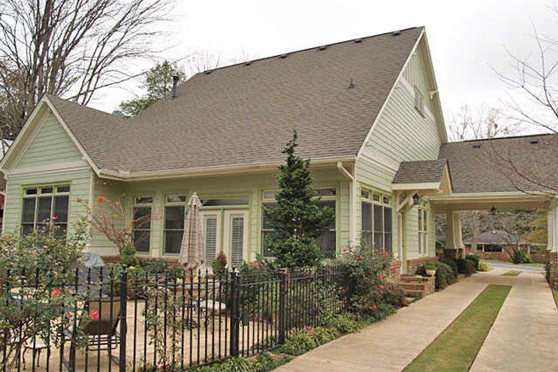Craftsman Exterior - Rear Elevation Plan #120-160 - Houseplans.com