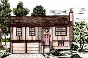 Exterior - Front Elevation Plan #405-158