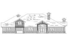 Dream House Plan - European Exterior - Rear Elevation Plan #5-398