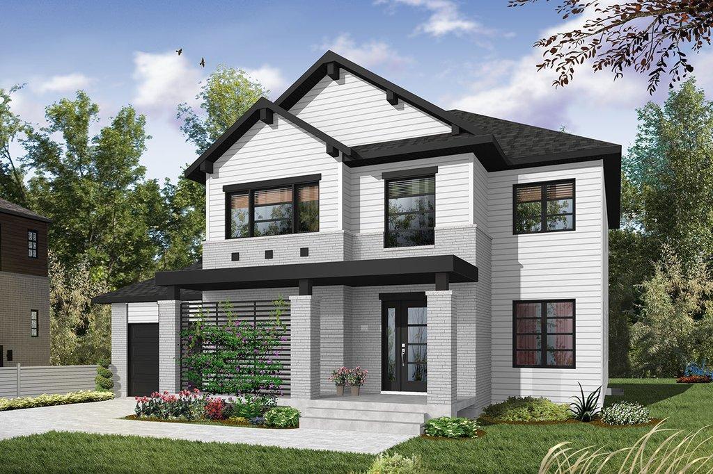 Craftsman Style House Plan - 4 Beds 3 Baths 2038 Sq/Ft Plan #23-2659 - Houseplans.comicon-hamburgerCloseClose