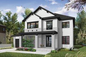 Craftsman Exterior - Front Elevation Plan #23-2659