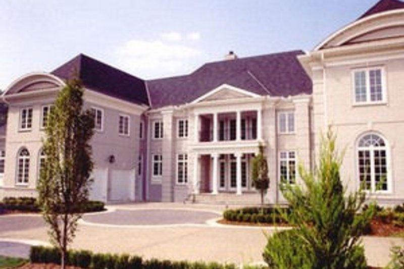 European Exterior - Other Elevation Plan #119-166 - Houseplans.com