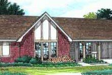 Home Plan - Exterior - Front Elevation Plan #45-220