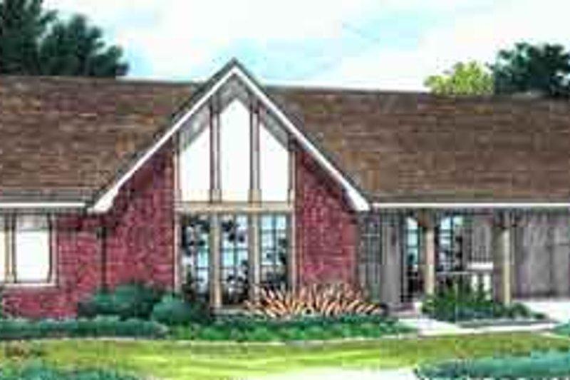 Dream House Plan - Exterior - Front Elevation Plan #45-220