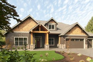 Craftsman style plan 48-542 elevation