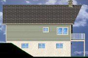 Contemporary Style House Plan - 3 Beds 2 Baths 1916 Sq/Ft Plan #126-166 Exterior - Other Elevation
