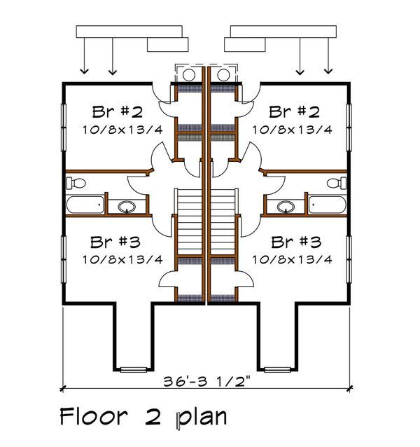 Traditional Floor Plan - Main Floor Plan Plan #79-245
