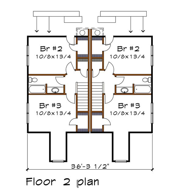 House Plan Design - Traditional Floor Plan - Main Floor Plan #79-245