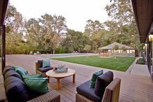 Ranch Exterior - Outdoor Living Plan #888-17