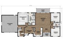 Ranch Floor Plan - Main Floor Plan Plan #1077-4