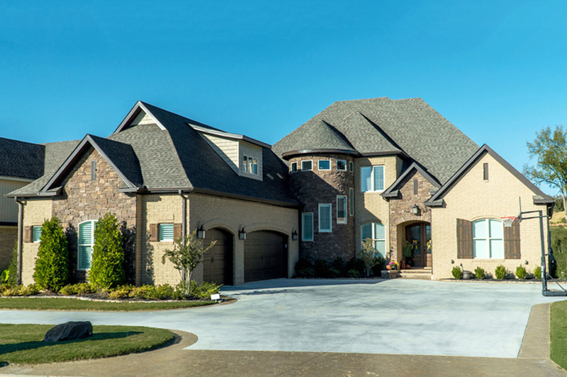 European Style House Plan - 5 Beds 3.5 Baths 4719 Sq/Ft Plan #923-111 Exterior - Front Elevation