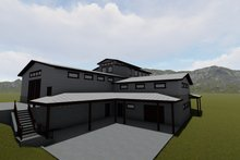 House Plan Design - Farmhouse Exterior - Other Elevation Plan #1060-80