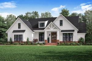Dream House Plan - Craftsman Exterior - Front Elevation Plan #1067-2