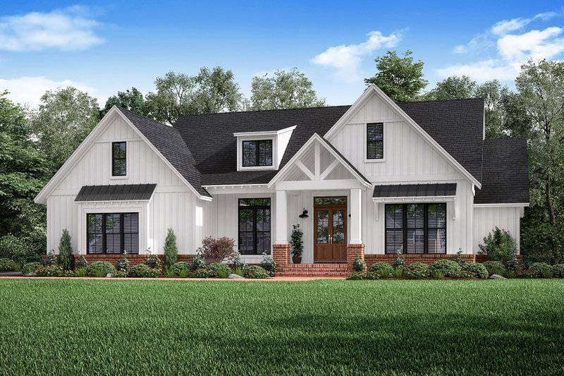 House Plan Design - Craftsman Exterior - Front Elevation Plan #1067-2
