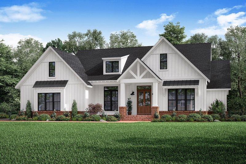 House Design - Craftsman Exterior - Front Elevation Plan #1067-2