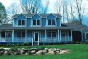 Farmhouse Style House Plan - 4 Beds 3.5 Baths 2695 Sq/Ft Plan #20-208 Exterior - Other Elevation