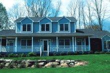 Home Plan - Farmhouse Exterior - Other Elevation Plan #20-208