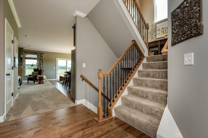 Craftsman Interior - Entry Plan #20-2154 - Houseplans.com