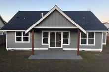 Dream House Plan - Craftsman Exterior - Rear Elevation Plan #1070-46