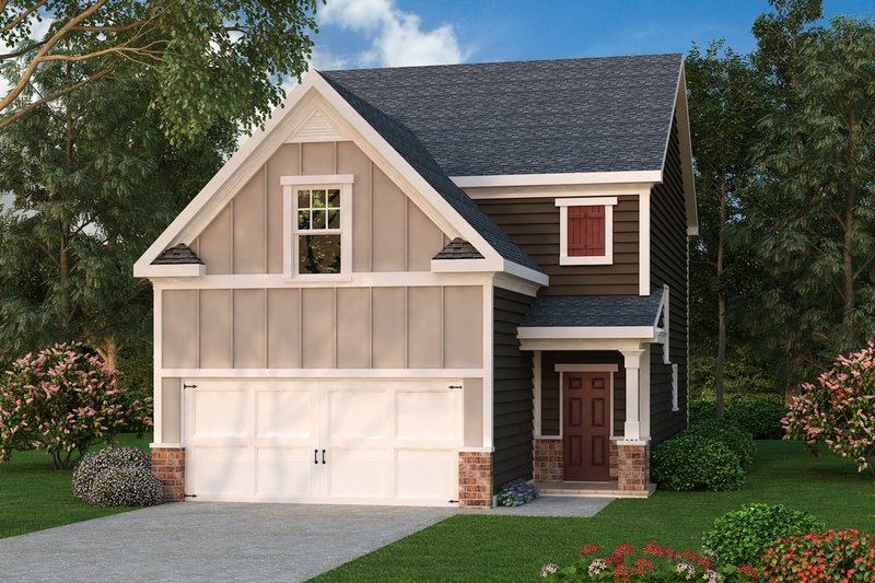 Home Plan - Traditional Exterior - Front Elevation Plan #419-280