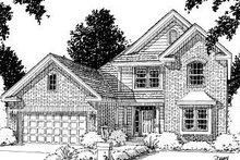 Home Plan Design - Traditional Exterior - Front Elevation Plan #20-173