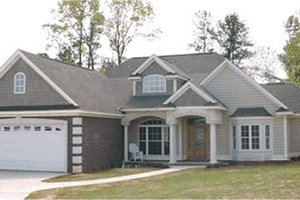 Traditional Exterior - Front Elevation Plan #63-109