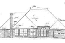 Dream House Plan - European Exterior - Rear Elevation Plan #310-855