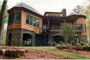 Craftsman Style House Plan - 4 Beds 4.5 Baths 4304 Sq/Ft Plan #453-22 Photo