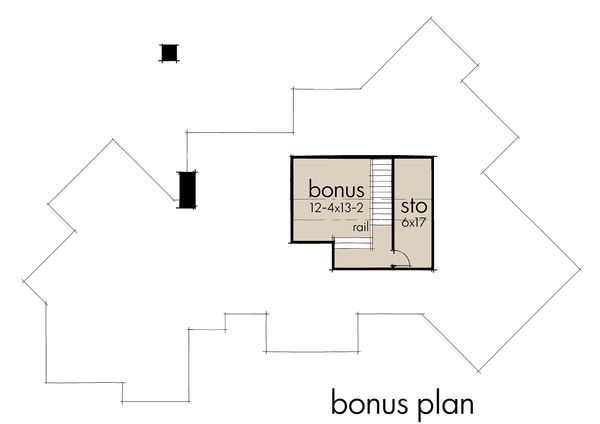 Country Floor Plan - Other Floor Plan Plan #120-192