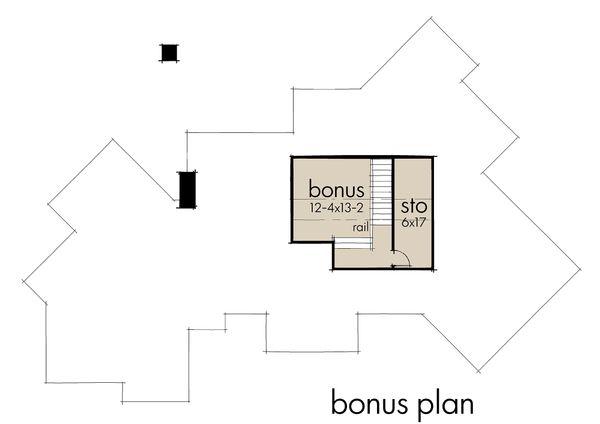 Country Floor Plan - Other Floor Plan Plan #120-192